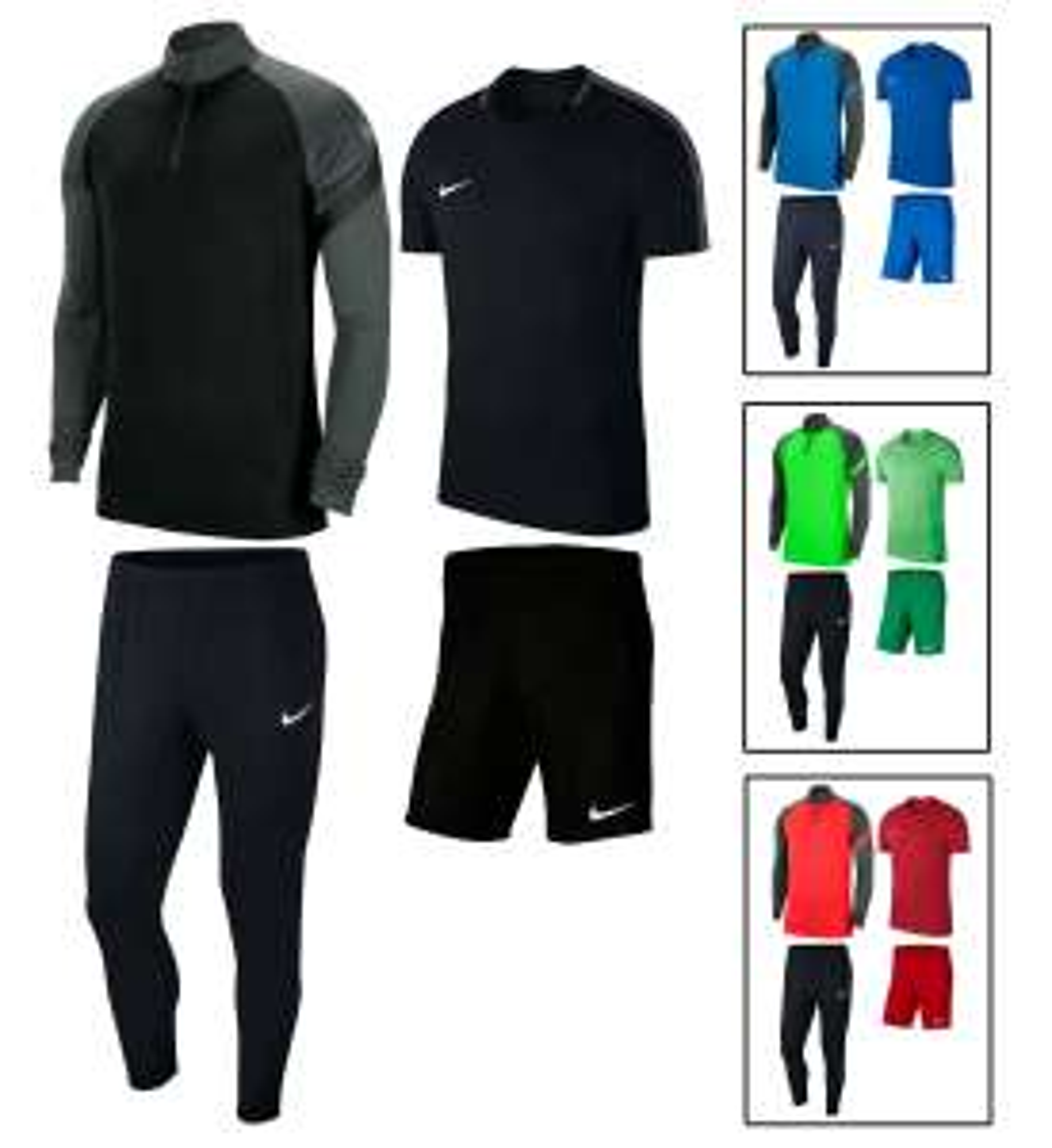 Nike Academy 4-delige trainingsset @ Geomix