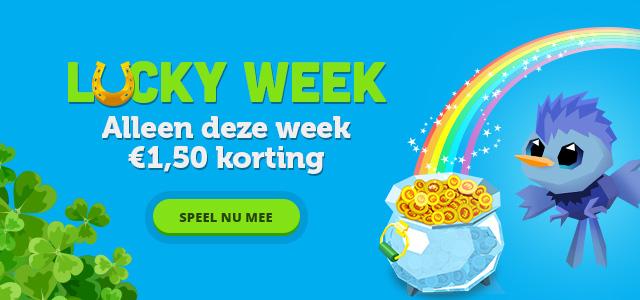 gratis meespelen + €0,25 @luckyday