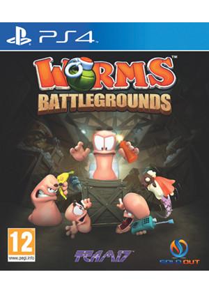 Worms: Battlegrounds (PS4) voor €20,75 @ Base.com