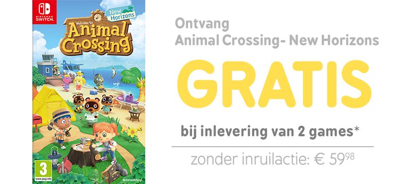 [Nieuwe inruilacties] Bijv. Animal Crossing- New Horizons gratis bij inleveren van twee switch games