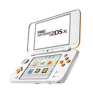 (New) Nintendo 2DS XL Wit/Oranje @Amazon.de