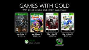 Games with Gold maart 2020