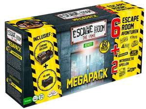 [Dagdeal] Escape Room The Game Megapack (6 scenario's) voor €26,95 @ ibood