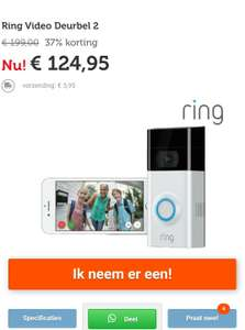 Ring video deurbel 2