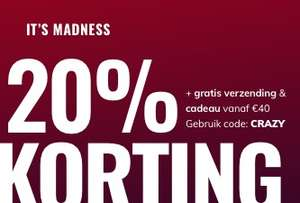 20% korting bij Body and Fit