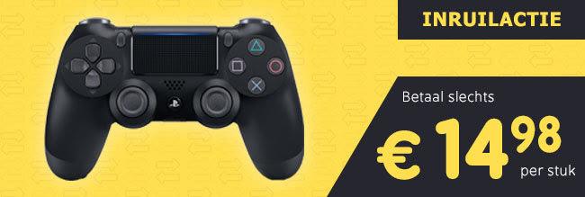 Nieuwe DualShock 4 Controller V2 voor €14,98 bij inleveren van je oude controller