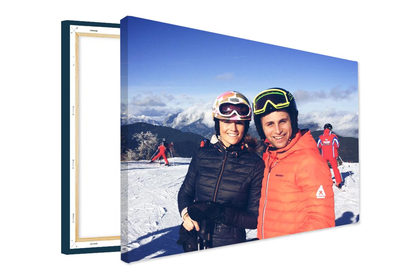 Gratis foto canvas 40x30 cm, 2 cm dik door kortingscode (€7,95 verzendkosten) @ Canvas Company