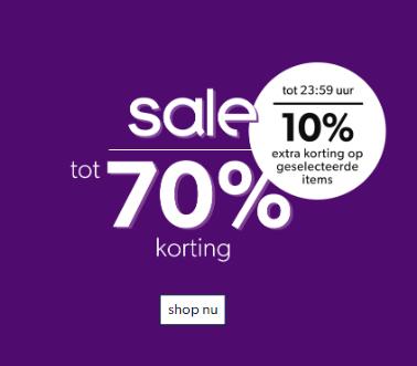 [Vanavond] 10% extra korting op geselecteerde sale (kleding & schoenen) @ Wehkamp