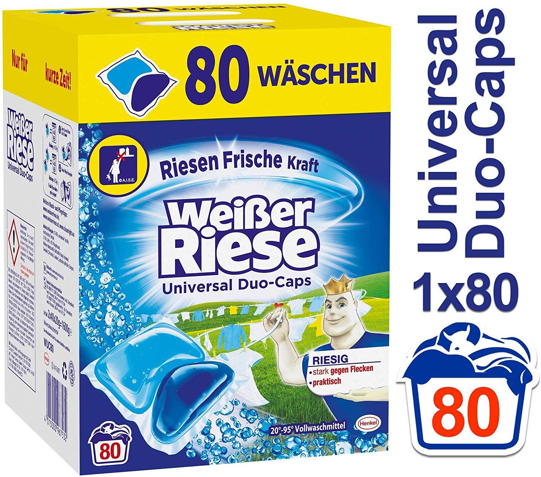 Witte reus of Color reus duo caps (pods) - 80 stuks - Amazon.de