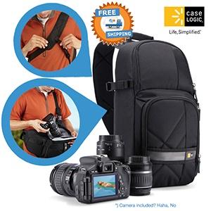 Case Logic CPL-107 DSLR Camera rugzak voor €29,95 @ iBOOD