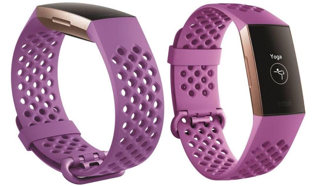 (UITVERKOCHT) Fitbit charge 3 sporthorloge (roze goud) @ Groupon