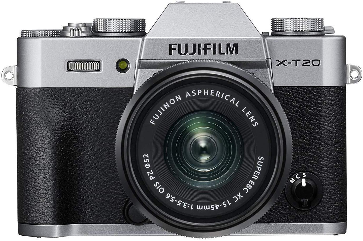 Fujifilm x-t20 behuizing met lens voor 499