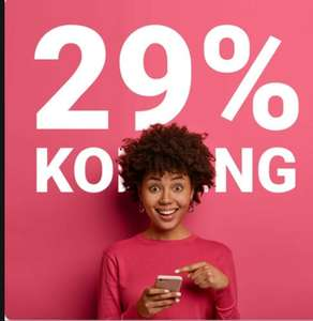 29% korting op alle telefoonhoesjes @GSMpunt.nl