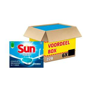 Sun All-in-one Vaatwastabletten 7 cent p.s. @ Kruidvat.nl