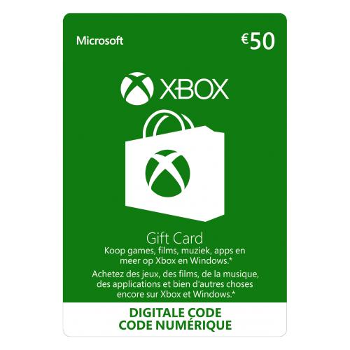 Xbox Live Giftcard €50 @ Gamivo