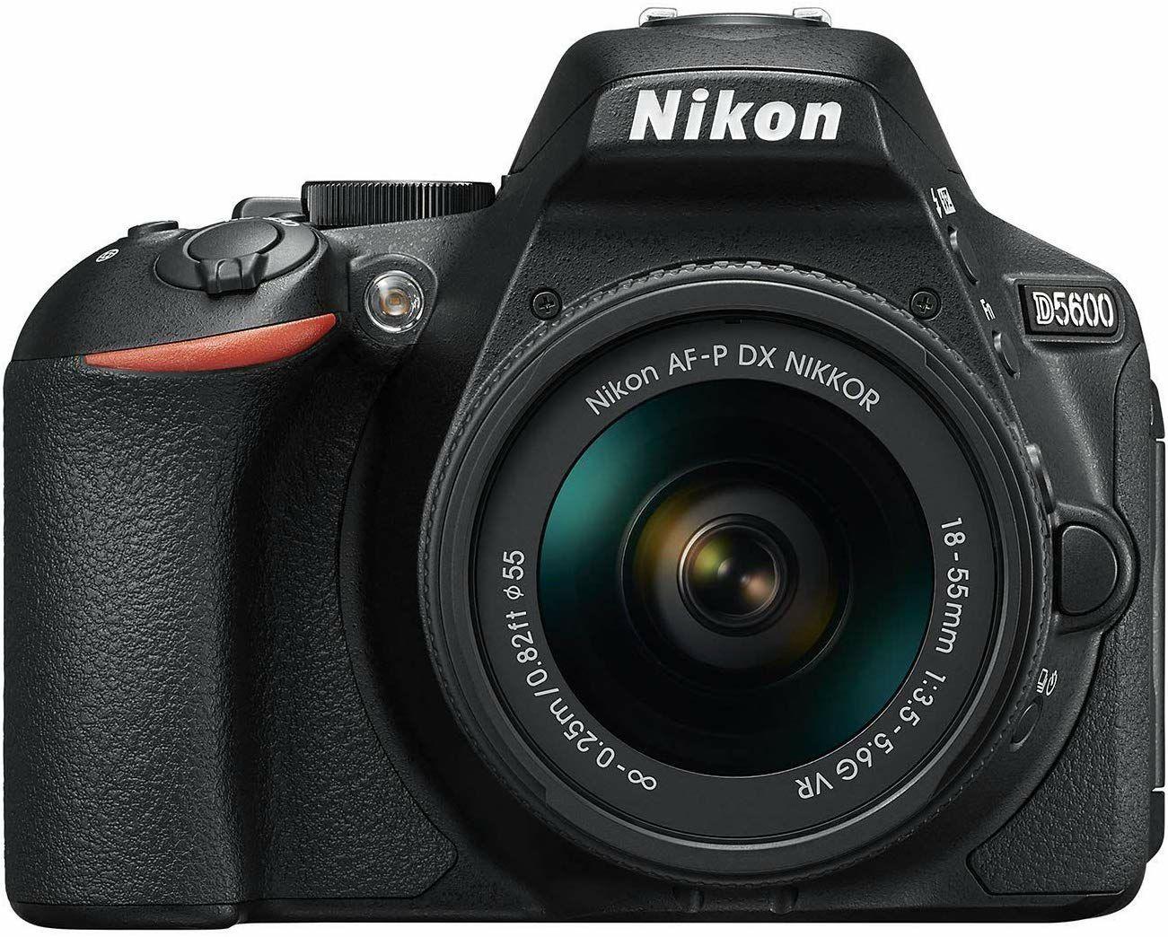 Nikon D5600 icm 18-55 lens
