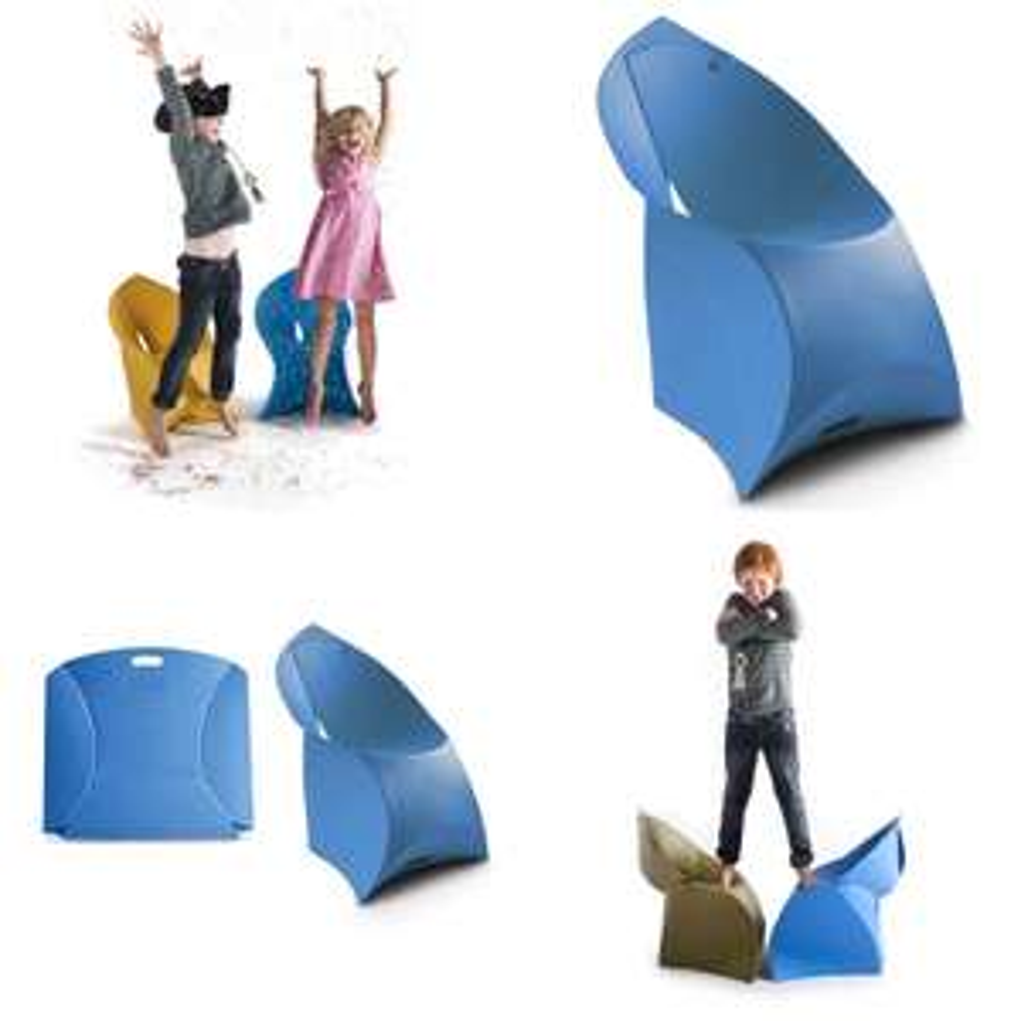 Flux Chair - opvouwbare design kids stoel @ fonQ
