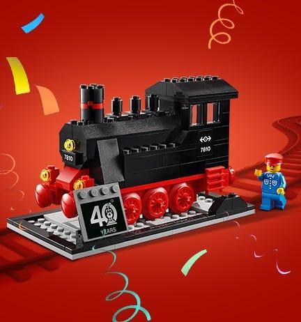 GRATIS LEGO® Treinen-set bij aankopen vanaf €99,-