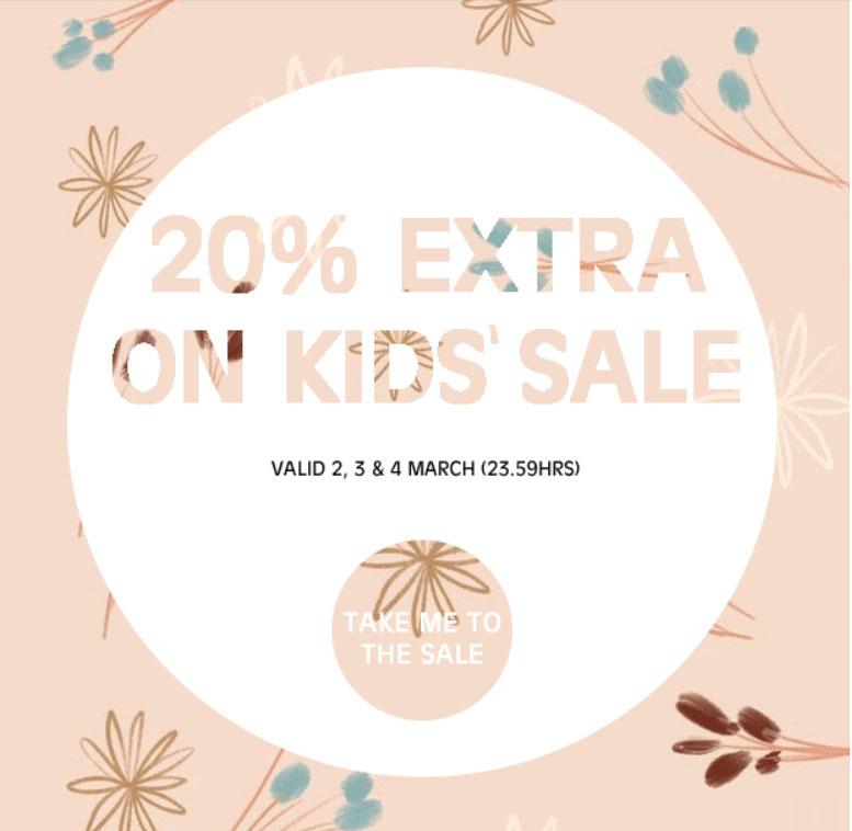 SALE tot -70% + 20% EXTRA op kinderkleding @ Orangebag