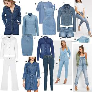 Fashion trends lente/zomer - #3. Double Denim - budget style