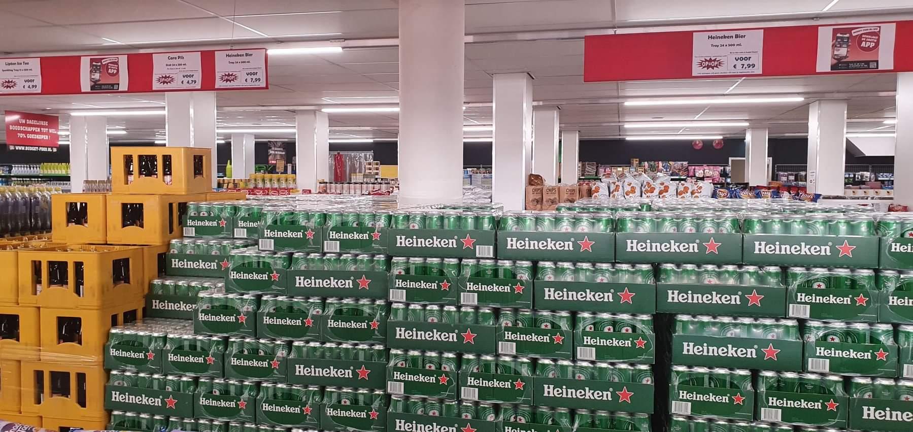 [Lokaal] Heineken blikken 24x 0,5l budget food Zwijndrecht