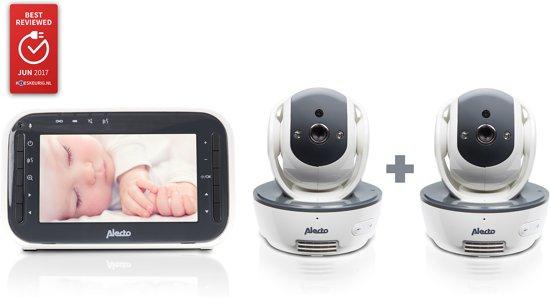 Alecto DVM-200/201 babyfoon met twee camera's @ Bol.com