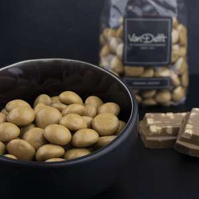 50% korting op geselecteerde chocolade van VanDelft + €4 kassakorting