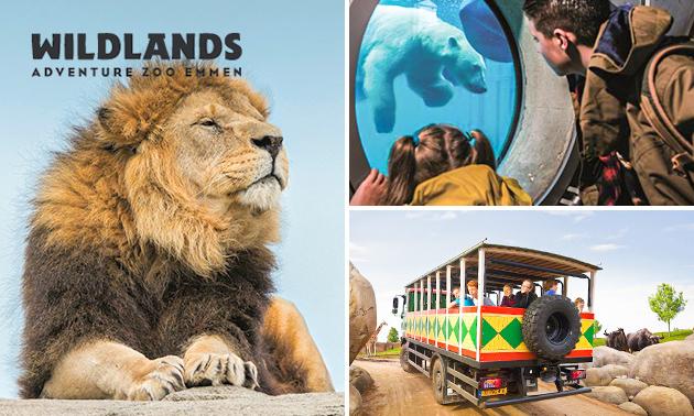 Wildlands Emmen voor 15,00 per ticket @socialdeal