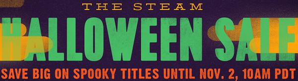 Halloween Sale met games vanaf €0,02 @ Steam