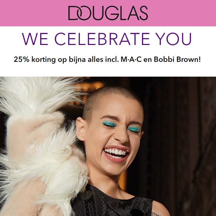 Women's Day DEAL: 25% korting op (bijna) alles @ Douglas