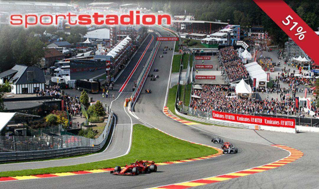 F1 Spa kwalificatie Bronze ticket 29 Augustus