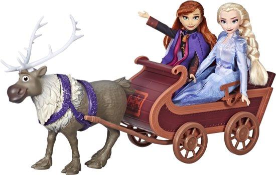 Disney Frozen 2 Anna, Elsa en Sven met slee €33,99 @ bol.com