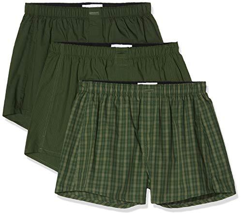 Calvin Klein 3-pack woven boxershorts vanaf €11,68 @ Amazon.de