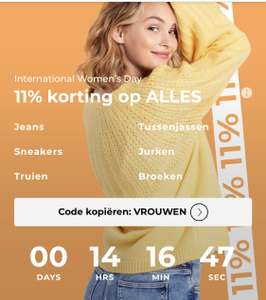 About you: 11% korting