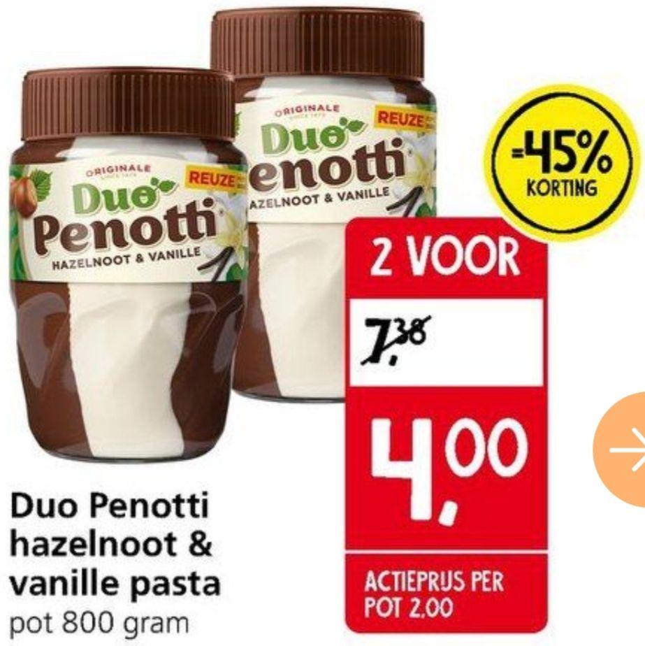 Duo Penotti 2x800 gram €4,- @Jan Linders