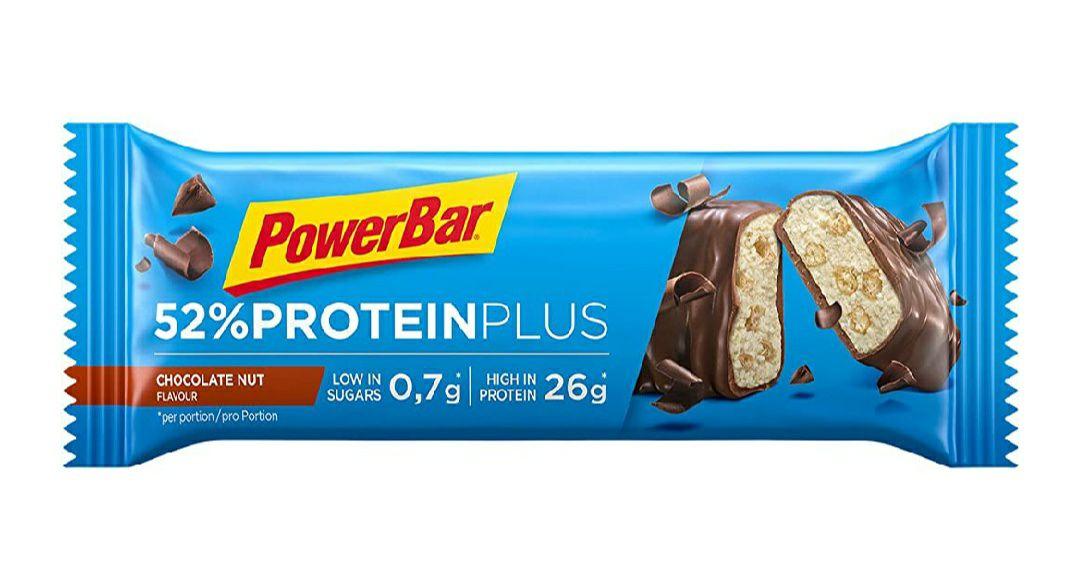 [prijsfout] PowerBar 52% ProteinPlus (20x50Gr) - Chocolade Moer