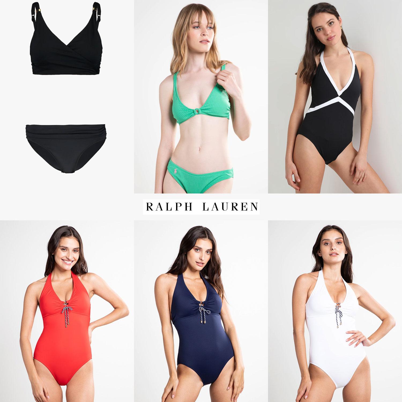 Ralph Lauren dames badmode 60-75% korting (60+ items) @ Zalando