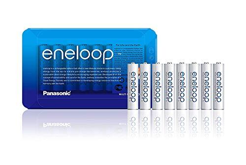 8x AAA Panasonic Eneloop oplaadbare batterijen