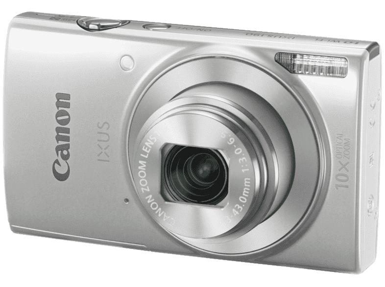 Canon Ixus 190 compact camera Zilver @ Media Markt
