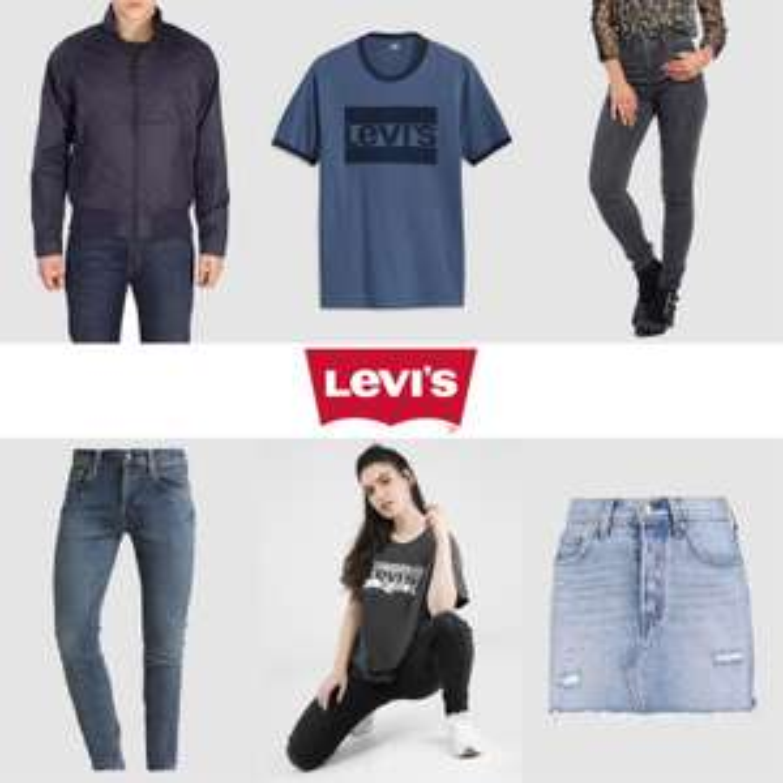 Levi's dames & heren -50% + 20% extra (va €70) @ Maison Lab