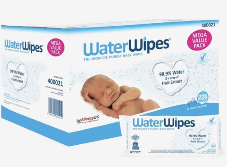 Water Wipes 12X60 babydoekjes op bol.com