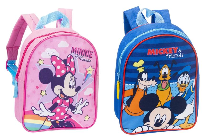 Disney Mickey of Minnie Mouse rugtas 6L voor kinderen voor €4,99 @ Trekpleister