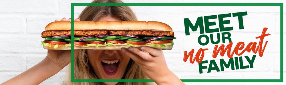 €1 tot €2 korting op Subway broodjes zonder vlees