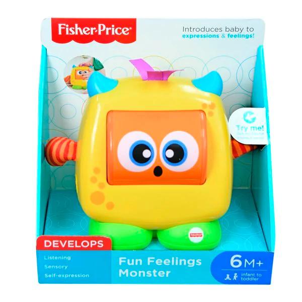 Fisher-Price Fun Feelings Monster voor €6,99 @ Kruidvat