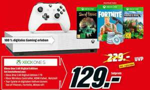 [Mediamarkt grensdeal] Microsoft Xbox One S 1TB – All Digital Edition incl 3 games