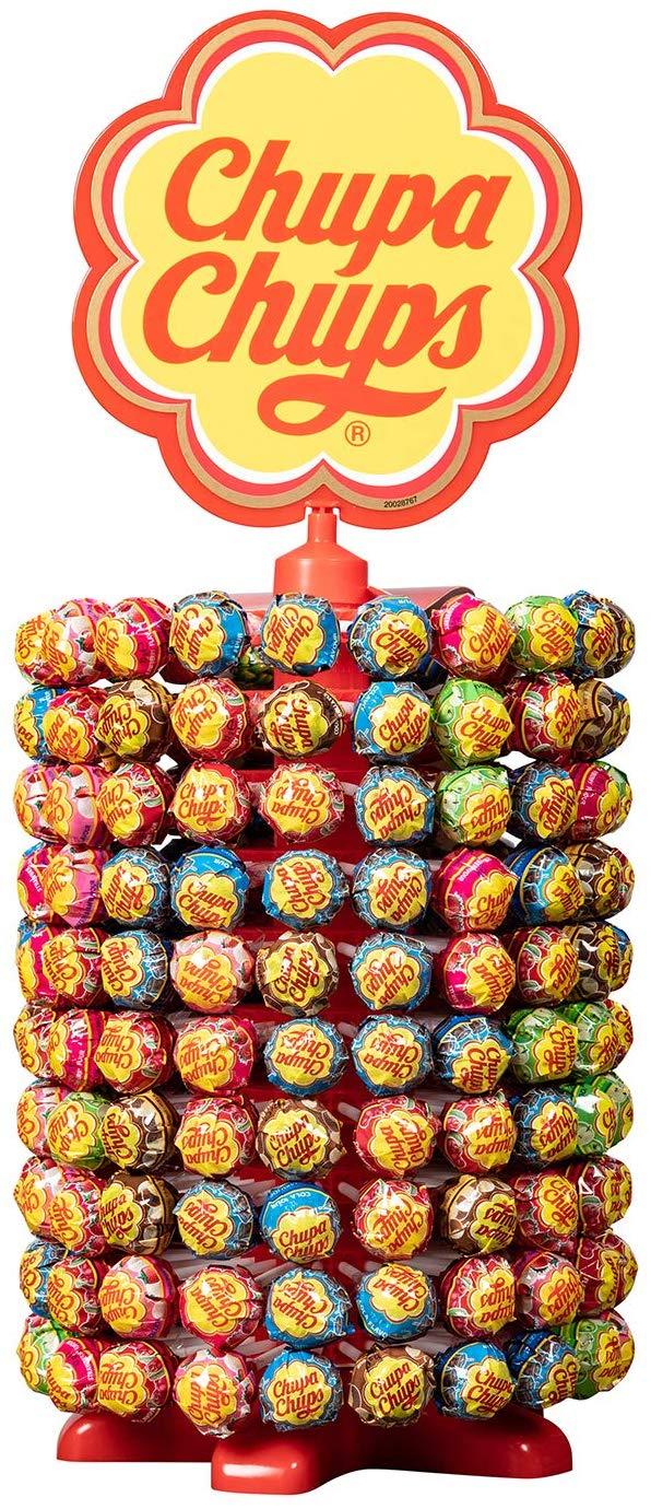 Chupa Chups lollies carousel (200 stuks) voor €8,98 @ Amazon.nl