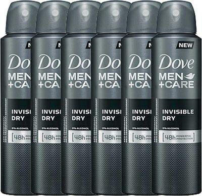 Dove Men+Care Invisible Dry Anti-transpirant (6x150ml)