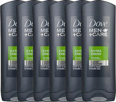 Dove Men+Care Douchegel Extra Fresh (12x400ml)