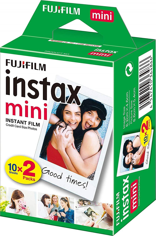 Fujifilm Instax Mini Instant Film 2x 10 Vellen (Wit)