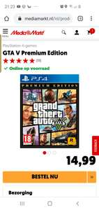 Grand Theft Auto V: Premium Edition (PS4) @ Mediamarkt